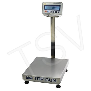 Kilotech Top Gun Electronic Platform Scales, 60 kg/150 lb, Legal (880523)