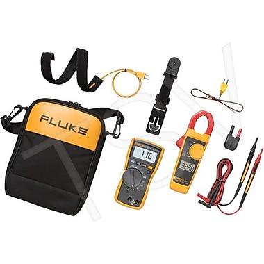 Fluke Multimeter And Clamp Meter Combo Kit (116/323-KIT)