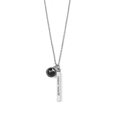 Foxy Originals – Collier « Dream Big » de la collection Wanderlust, argenté/noir