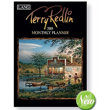 Lang 2018 Terry Redlin Monthly Planner, 13 Month Format. January 2018- January 2019