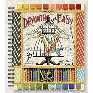 Lang Drawnear Hard Covered, Spiral Bound, Micro-Perforated Sketchbook
