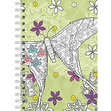 Lang Garden of Life Spiral Bound, Hard Cover Coloring Journal