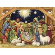 Lang Adore Him Boxed Christmas Cards Full Colour Artwork Inside & Out