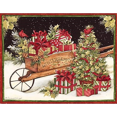 Lang Christmas Delivery Boxed Christmas Cards Full Colour Artwork Inside & Out