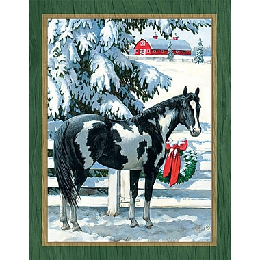 Lang Holiday Stables Boxed Christmas Cards Full Colour Artwork Inside & Out