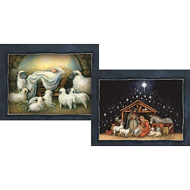 Lang Nativity. 2 Designs, Boxed Christmas Cards