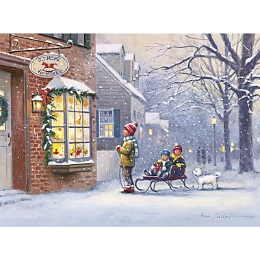 Lang All I Want for Christmas Boxed Christmas Cards Full Colour Art On Cards