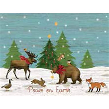 Lang Peace on Earth Boxed Christmas Cards Full Colour Art On Cards 12 Cards, 13 Envelopes