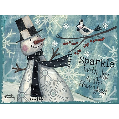 Lang Sparkle Boxed Christmas Cards Full Colour Art On Cards 12 Cards, 13 Envelopes