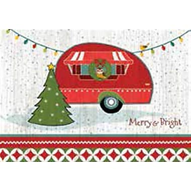 Lang Merry & Bright Petite Christmas Cards Full Colour Artwork Inside & Out
