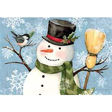 Lang Snowy Wishes Petite Christmas Cards Full Colour Artwork Inside & Out