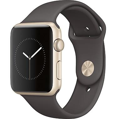 Apple Watch Series 1, 42mm, Gold Aluminum Case, Midnight Blue Sport Band (MQ122CL/A)