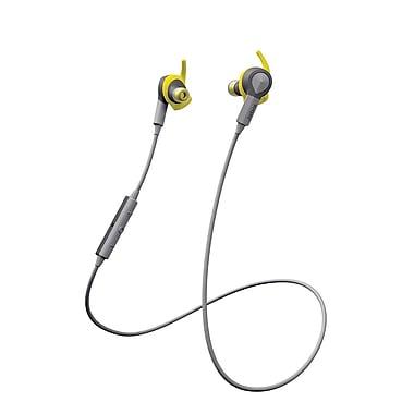Jabra - Casque d'écoute stéréo Bluetooth Sport Coach, jaune