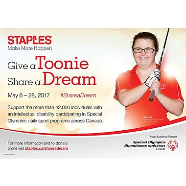 Give A Toonie. Share A Dream, $20 Donation