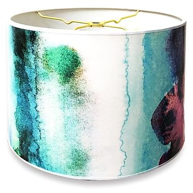RoyalDesigns Designer Hard Back 10'' Paper Drum Lamp Shade