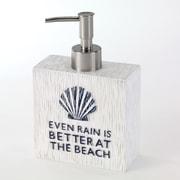 Avanti Linens Beach Words Soap & Lotion Dispenser