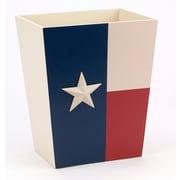 Avanti Linens Texas Star Trash Can