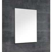 Dawn USA Wall Mounted Frameless Wall Mirror; 27.5'' H x 24'' W x 1.06'' D