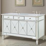 Elegant Lighting Camille 60'' Double Bathroom Vanity