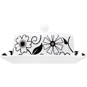 Home Essentials and Beyond Domino Butter Dish