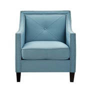 Inspired Home Co. Mckinley Club Chair; Sapphire Blue