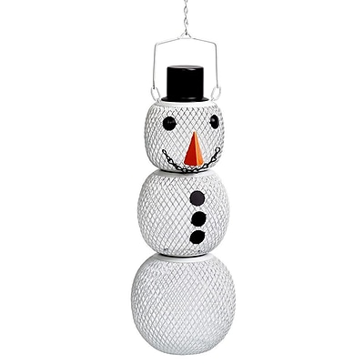 Perky Pet Snow Man Wild Bird Feeder (WYF078280165755) photo