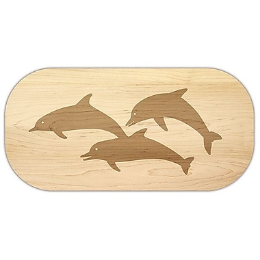 Martins Homewares Coastal Reef Maple Dolphin Cheese Board and Platter