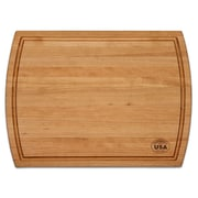 Martins Homewares Cherry Wood Pro Reversible Carving Cutting Board