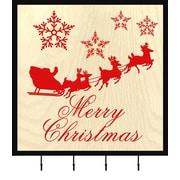 PTM Merry Christmas Wall Mounted Coat Rack