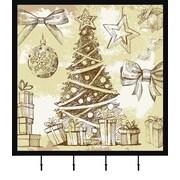 PTM Christmas Tree Wall Mounted Coat Rack