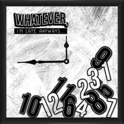 PTM Whatever 12'' Wall Clock