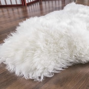 Rodeo Sheepskin Natural Ivory Area Rug