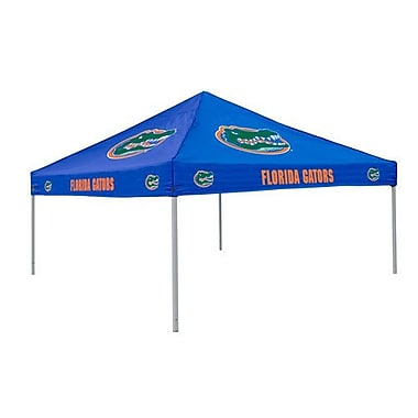 Logo Brands Collegiate Blue Tent - Florida