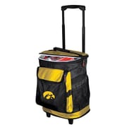 Logo Brands Collegiate Rolling Cooler - Iowa