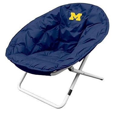 Logo Brands Collegiate Sphere Chair - Michigan