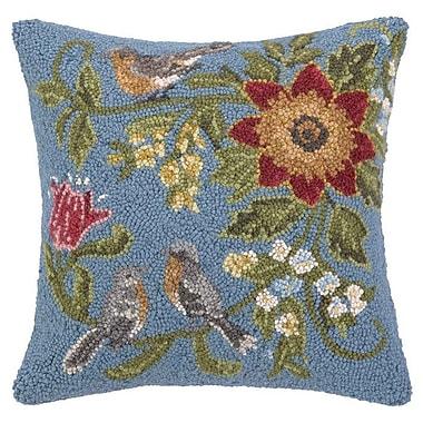 Peking Handicraft INC. Daisy Wool Throw Pillow