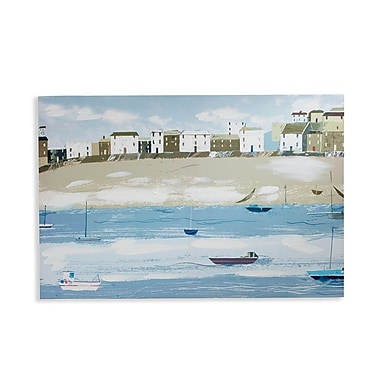 Arthouse 'Fishermans Tail' Painting Print on Canvas