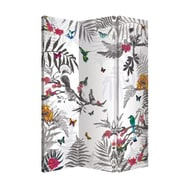 Arthouse 59'' x 47'' Enchantment Mystical Forest 3 Panel Room Divider