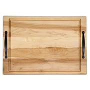 Martins Homewares Ambrosia Handle Carve Cheese Board and Platter ; 1.25'' H x 18'' W x 12'' D