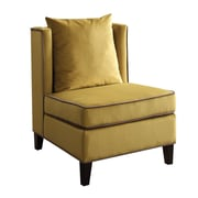 ACME Furniture Ozella Slipper Chair; Yellow