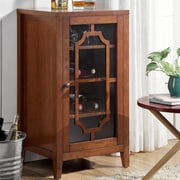 ACME Furniture Fina 8 Bottle Floor Wine Cabinet; Walnut