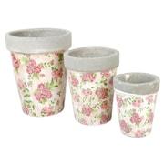 EsschertDesign Penelope Aged Ceramic Pot Planter