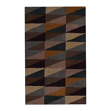Get My Rugs Hand-Tufted Brown Area Rug; 9'x12'