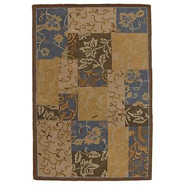 Get My Rugs Hand-Tufted Gold Area Rug; Octagon 8'