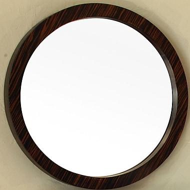 Bellaterra Home Round Bathroom Wall Mirror