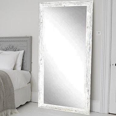 BrandtWorksLLC Shabby Elegance Accent Wall Mirror; 66'' H x 32'' W x 0.75'' D