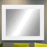 Commercial Value Lobby Design Wall Mirror; Whte