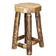 Loon Peak Tustin 24'' Wooden Bar Stool