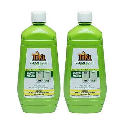 TIKIBrand Clean Burn Torch Fuel; Set of 2