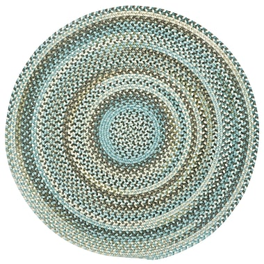 August Grove Phoebe Tan Hues Variegated Rug (Set of 4); Round 1'3''